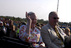 QUEEN MARGRETHE AND PRINCE HENRIK Stock Images