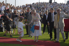 QUEEN MARGRETHE AND PRINCE HENRIK Royalty Free Stock Photography