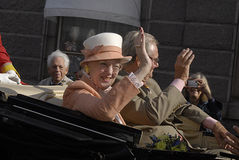 QUEEN MARGRETHE & PRINCE HENRIK Royalty Free Stock Photo