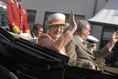 QUEEN MARGRETHE & PRINCE HENRIK Royalty Free Stock Images