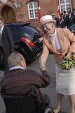 QUEEN MARGRETHE & PRINCE HENRIK Stock Photography