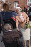 QUEEN MARGRETHE & PRINCE HENRIK Royalty Free Stock Photography