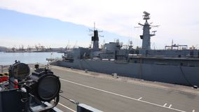 The Queen Maria frigate - view from the frigate King Ferdinand