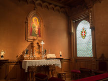 Queen Maria Pia chapel Royalty Free Stock Photo