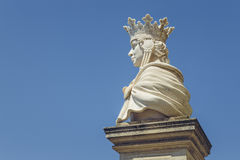 Queen Marie of Romania statue Royalty Free Stock Image
