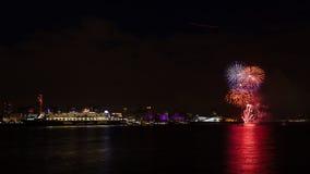 Queen Mary 2 που προσορμίζεται στην προκυμαία του Λίβερπουλ Στοκ φωτογραφίες με δικαίωμα ελεύθερης χρήσης