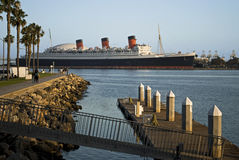 The Queen Mary Stock Image