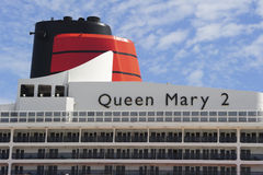 Queen Mary 2 a Fotografie Stock