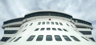 Queen Mary 2 - 20 07 2014 stock photo