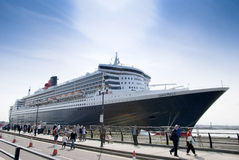 Queen Mary 2 Stock Afbeeldingen
