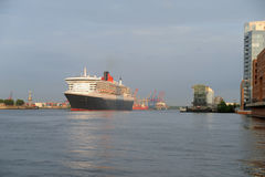Queen Mary 2 Fotografia de Stock Royalty Free