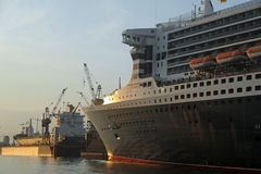 Queen Mary 2 Royalty Free Stock Photography