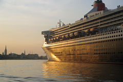 Queen Mary 2 Image libre de droits