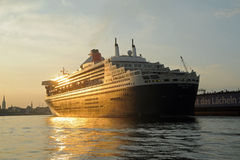 Queen Mary 2 Photo stock