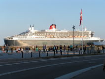 Queen Mary 2 Fotografie Stock