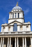 Queen Mary Court at the Royal Naval College in London Royalty Free Stock Photos