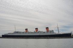 Queen Mary en día nublado Fotografía de archivo