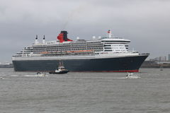 The Queen Mary 2 Stock Photography