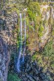Queen Mary Falls in the Main Range National Park which descend 40 metres from the McPherson Range near the Queensland-New South Wa. Les border of Australia royalty free stock photos