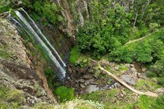 Queen Mary Falls in Queensland. In Australia Royalty Free Stock Image