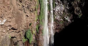 Queen Mary Falls in Queensland. Queen Mary falls located in the Darling Downs region of Queensland, Australia stock video