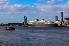 Queen Mary II stockbild