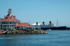 Queen Mary, Lang Strand, CA Royalty-vrije Stock Afbeeldingen