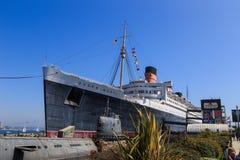 Queen Mary, Long Beach Imágenes de archivo libres de regalías