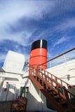 Queen Mary in Long Beach, Californië, de V.S. Stock Foto