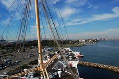 Queen Mary in Long Beach, California, USA Stock Photography