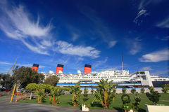 Queen Mary in Long Beach, California, USA Royalty Free Stock Photography
