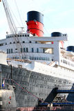 Queen Mary in Long Beach, California, USA Royalty Free Stock Photo