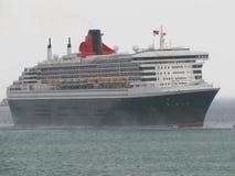 Queen Mary 2, ocean, niebo, naczynie, morski życie, żeglarz, morze Fotografia Royalty Free