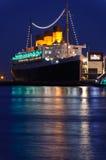 Queen Mary-Ozeandampfer lizenzfreie stockfotos