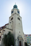 Queen Mary's Church in Poznan, Kosciol Maryi Krolowej - Tower Royalty Free Stock Image