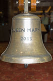 Queen Mary 2 Ship's Bell Royalty Free Stock Photos