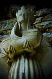 Queen Mary Statue. An ancient statue of Queen Mary Stock Images