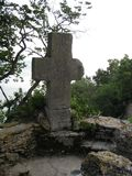 queen-mary-stone-cross stock images