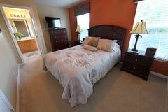 Queen Master Bedroom Royalty Free Stock Image