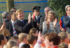 Queen Maxima and King Willem Alexander Stock Photography