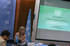 Queen Maxima of the Netherland Visit to Indonesia. Her Majesty Queen Máxima of the Netherlands has served as the UN Secretary-General's Special Advocate for Stock Photos