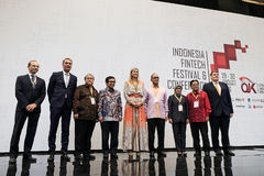 Queen Maxima of the Netherland Visit to Indonesia. Her Majesty Queen Máxima of the Netherlands has served as the UN Secretary-General's Special Advocate for Royalty Free Stock Image