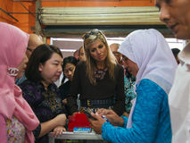Queen Maxima of the Netherland Visit to Indonesia. Her Majesty Queen Máxima of the Netherlands has served as the UN Secretary-General's Special Advocate for Stock Images