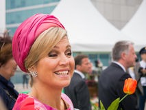 Queen Maxima of the Netherlands, spouse of King Willem-Alexander Royalty Free Stock Photo