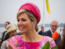 Queen Maxima of the Netherlands, spouse of King Willem-Alexander Royalty Free Stock Photography