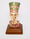 Queen Nefertiti. Bust of queen Nefertiti of Egypt Stock Photography