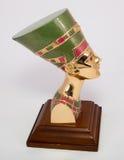 Queen Nefertiti. Famous bust of queen Nefertiti Stock Photography