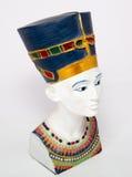 Queen Nefertiti. Famous bust of queen Nefertiti Stock Photos