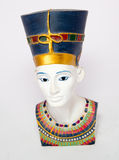 Queen Nefertiti. Famous bust of queen Nefertiti Royalty Free Stock Images
