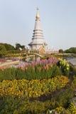 Queen pagoda of Doi Inthanon  National Park. Queen pagoda of Doi Inthanon National Park Stock Photography